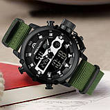 Мужские часы MegaLith Prof Green, фото 6