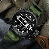 Мужские часы MegaLith Prof Green, фото 9