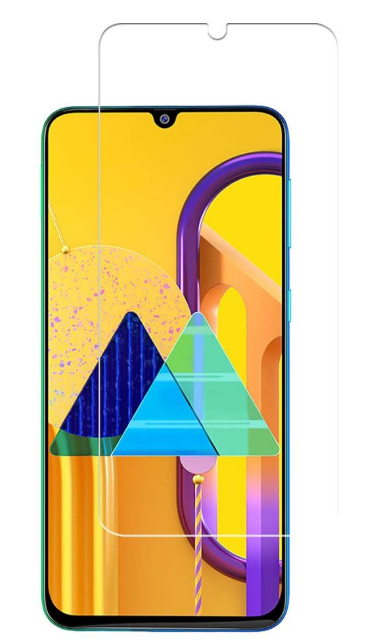 Гидрогелевая защитная пленка на Samsung Galaxy M30s на весь экран прозрачная