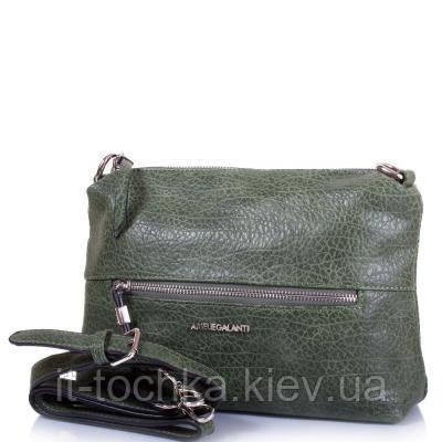 Женская мини-сумка из качественного кожезаменителя  amelie galanti (АМЕЛИ ГАЛАНТИ) a991351-green