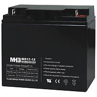 Аккумулятор AGM. 17Ач 12В, необслуживаемый герметизированный, модель-MS17-12