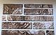 Настінна декоративна Панель ПВХ (Сланець коричневий), фото 2