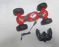 Машинка перевертыш трюковая на радиоуправлении TWISTED (Красная)