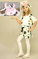 """Карнавальный костюм """"Корова"""", (возраст 3-5 лет), шорты/накидка/шапка"""
