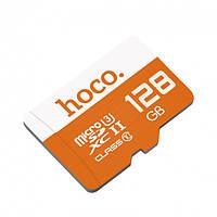 Карта памяти на 128 GB MicroSD Hoco Class 10, фото 1