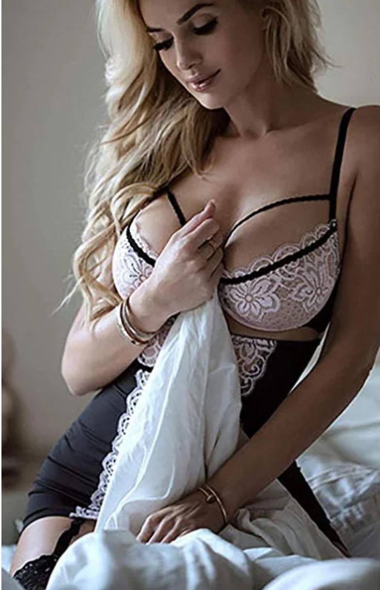 Эротическое женское белье кружевное , горничная