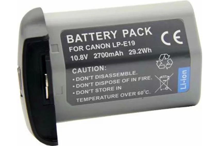 Аккумулятор LP-E19 для CANON EOS-1D X, EOS-1D Mark IV, EOS-1D Mark III, EOS-1Ds Mark III, EOS-1D X Mark II
