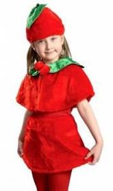 Карнавальный костюм Вишенка (возраст 3-5 года)