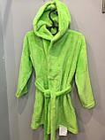 Махровый халат для девочки, фото 2