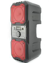 Портативна Bluetooth колонка HLV KTS-1048 Red, фото 3