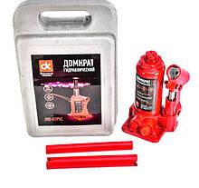 Домкрат бутылочный 2 т  пластик  Н=150/280 мм  ДК