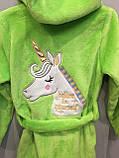 Махровый халат для девочки, фото 3