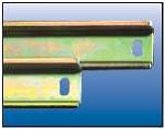 DIN рейка 2 метра для щита (ящика, щитка) металлического  , фото 1