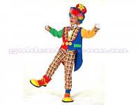 "Карнавальный костюм ""Клоун"", S/M/L (110-140см), шляпа/фрак/бабочка/штаны"