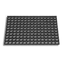 Коврик придверный резиновый Соты YPR К24-М 40x60см