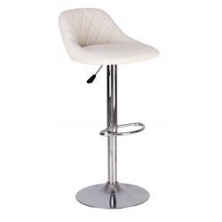 Барный стул Камилла CAMILLA CHROME (BOX-2) V-1 белый кожзам  от Nowy Styl
