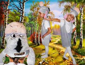 Карнавальный костюм Ослик (возраст 3-5 лет)