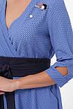 Платье расклешенное Луиза василек, фото 6