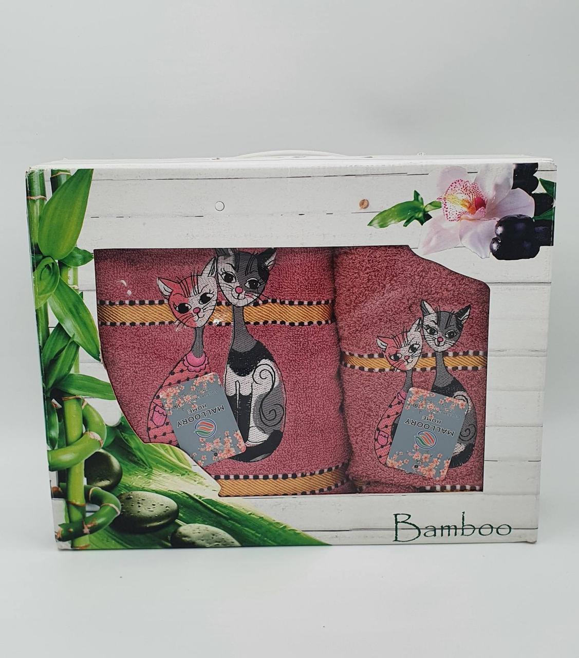 """Подарочный набор """"Кошки"""" баня +лицо"""