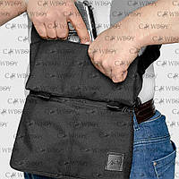A-line Плечевая сумка с кобурой А39, черная синтетическая, фото 1