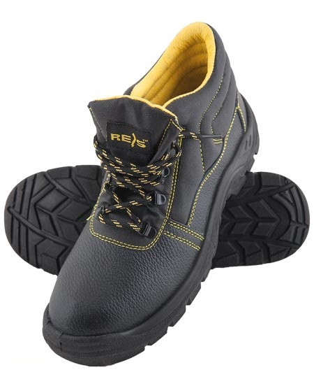 Рабочие ботинки с металлической вставкой на носке
