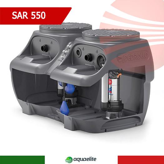 Насосная станция Pedrollo SAR 550 - VXm 15/35 для сточных вод