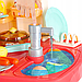 Детская большая интерактивная кухня с водой Fun Cooking 998B розовая 100 см, фото 8