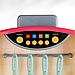 Детская большая интерактивная кухня с водой Fun Cooking 998B розовая 100 см, фото 7