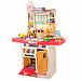 Детская большая интерактивная кухня с водой Fun Cooking 998B розовая 100 см, фото 3
