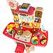 Детская большая интерактивная кухня с водой Fun Cooking 998B розовая 100 см, фото 4