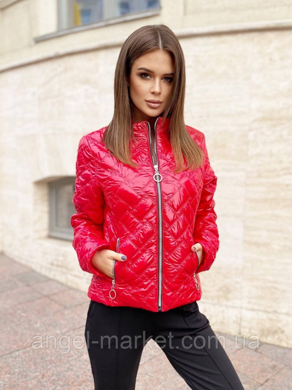 Осенняя  женская  куртка норма и батал Новинка 2020