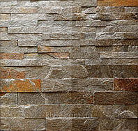"""Плитка Сланец """"Серебряные пески ANTIK"""" KLVIV торцованая 3 см 0.5 м.кв, фото 1"""