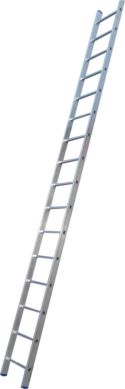 Лестница приставная ELKOP VHR Hobby 1x16 алюминиевая, 4247 мм