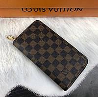 Кошелек клатч мужской кожаный модный качественный подарочный Louis Vuitton, фото 1
