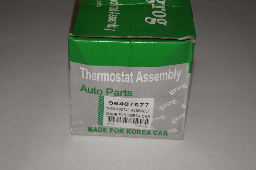 Термостат в сборе Ланос 1,6/авео 1,6/нексия 1,6 Железный корпус grog Корея