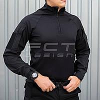 Убакс боевая рубашка из ткани CoolPass antistatic длинный рукав черный