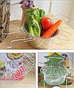 Складное сито-друшлаг Better Strainer 136 12в1. Многофункциональная кухонная сетка, фото 3