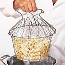 Складное сито-друшлаг Better Strainer 136 12в1. Многофункциональная кухонная сетка, фото 8