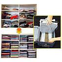 Система хранения одежды T-shirt organizing system EZSTAX, 10 шт, фото 2