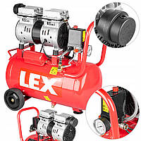 Безмасляный компрессор LEX LXAC24-11LO - 24 л. - 180 л\мин