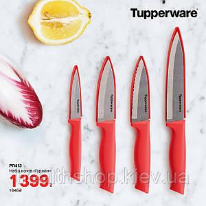 Набор ножей «Гурман» с чехлом Tupperware