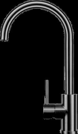 Смеситель кухоный KERNAU KWT 27 GUN METAL, фото 2
