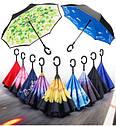 Ветрозащитный зонт наоборот Up-Brella. Зонт обратного сложения  Up-Brella, фото 6