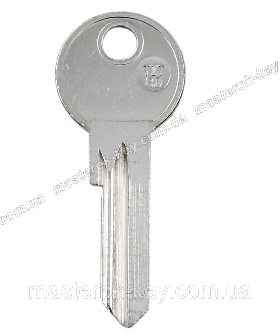 Заготівля ключа TIT8D