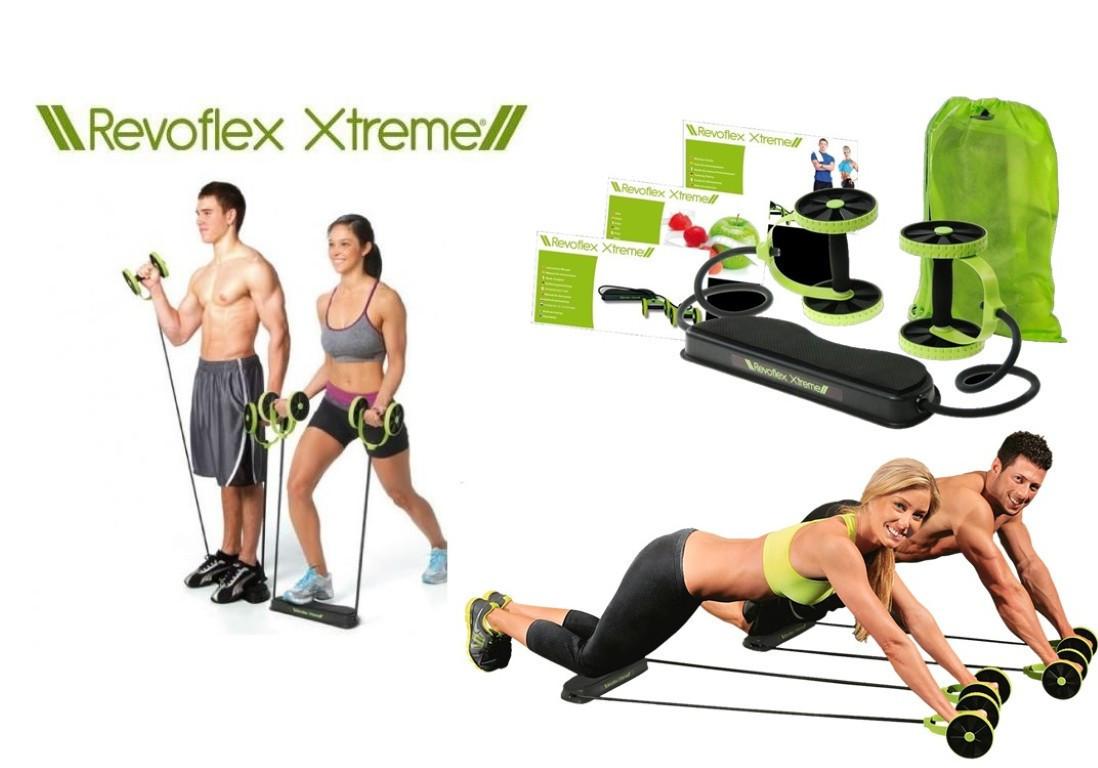 Роликовый тренажер  для всего тела Revoflex Xtreme! TOP
