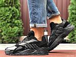 Мужские кроссовки Adidas Streetball (черные) 9863, фото 4