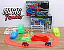 Детская гоночная трасса Magic Tracks на 360 деталей с машинкой. Светящийся гоночный трек-конструктор., фото 3