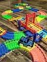 Детская гоночная трасса Magic Tracks на 360 деталей с машинкой. Светящийся гоночный трек-конструктор., фото 5