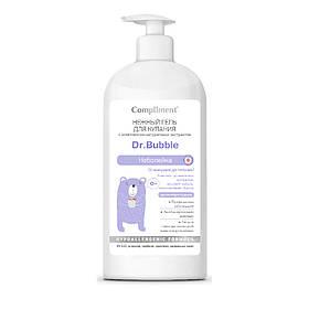 Нежный гель для купания малышей с комплексом натуральных экстрактов «Неболейка» Dr. Bubble Compliment 400 мл.
