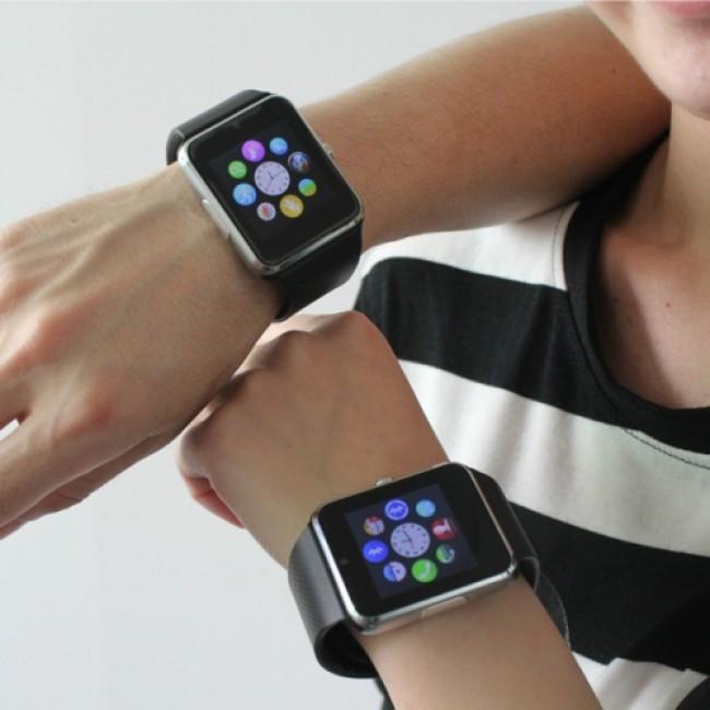 Умные часы Smart Watch А1. Смарт-часы А1 (золотые, красные, черные)